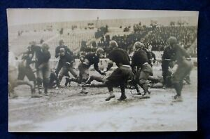 RP M.A.C. Cornell College Sports Football Game 1916 Postcard