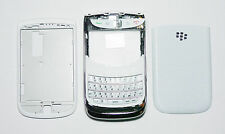 White Housing Cover Fascia Facia case for Blackberry Torch 9800 with keypad