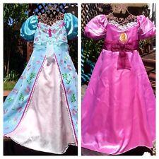 DISNEY PRINCESS GISELLE Enchanted REVERSIBLE CURTAIN DRESS COSTUME GIRLS M 7 8