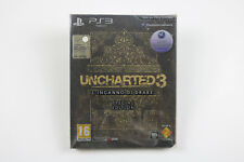 PS3 UNCHARTED 3 L'INGANNO DI DRAKE SPECIAL EDITION 3D NUOVO PLAYSTATION 3 SONY