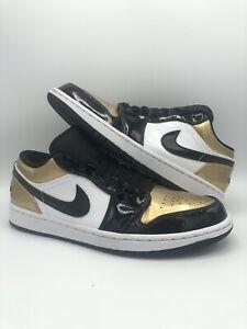 Size 9 - Jordan 1 Low Gold Toe 2019