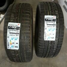 deux pneu hiver kumho 225/55 R18 neuf 102H