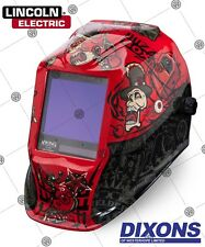 Lincoln Electric 3350 Viking Auto darkening Welding Helmet Grind Mode MIG TIG 4C