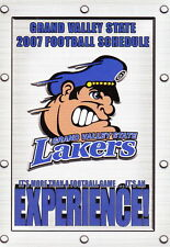 2007 Grand Valley State University Lakers Football Pocket Schedule
