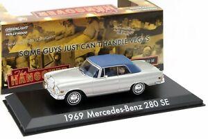 1969 MERCEDES-BENZ 280 SE Convertible  w/ tiger 'The Hangover' - 1/43 GREENLIGHT