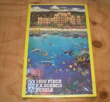 F.X.Schmid 1500 Piece Puzzle Royal Hawaiian Holiday 1997 Sealed New