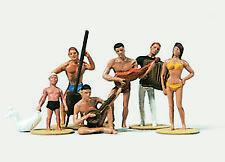 Merten/Preiser HO 1:87; (2174) suonatori sulla spiaggia