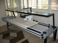 10' ft. INSPIRA QUILTING FRAME & PFAFF GRAND QUILTER HOBBY 1200 ... : inspira quilting frame - Adamdwight.com