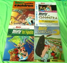 10 ASTERIX Comic Style BOOKS Text by GOSCINNY and Drawings by UDERZO
