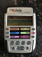 TRIVIA CHALLENGE HAND HELD PALM SIZE TRAVEL GAME