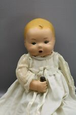 """Antique American Character Bottletot Doll Petite 16"""" Tall 1920's TLC"""