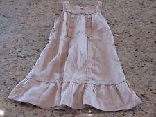 edme & esyllte Womens Tan linen dress Size S GUC