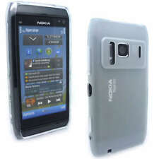 NEW Clear Jelly Case Cover Gel Skin for Nokia N8 + SP