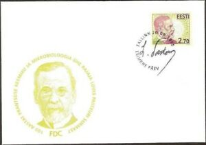 2671 - Estonia - 1995 - Centenary of the death of Louis Pasteur - FDC - Lemberg