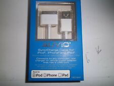 AUVIO 1201241  SYNC/CHARGE CABLE FOR IPOD,IPHONE AND IPAD  (6-INCH)
