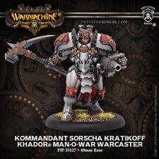 Warmachine: Khador - Kommandant Sorcha Kratikoff Warcaster (1) 33127