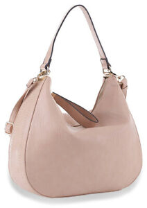 Retro Classic Hobo Shoulder Tote Handbag with Zipper Closure for Women