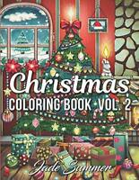 Christmas Coloring Book An Adult Coloring Book Fun Relaxing Coloring Pages Vol 2