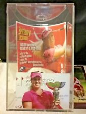 LPGA 2006 Signed Titleist Cap and Playoff announcement ~ Brittany Lincicome.