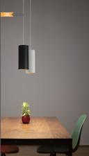 Cusp Series 80*160*1500mm 18W Modern LED Pendant Light Dimmable Black & White