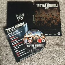 Royal Rumble 2007 - Limited Edition Steelbook - Wrestling WWE WWF DVD Complete