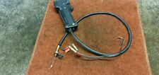 McCulloch EuroMac D29 Petrol Strimmer Part - Control Handle & Cables