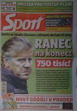 Sport eurofotbal uefa cl 1999/00 victoria plzen-ac milan