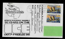 USA-Antarctic-Base McMURDO 30-Years-on-the-Deep-Freeze /Helicopter-Flight -1986-