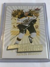 New listing patrice bergeron Fleer Ultra Diffetence Makers 08/09 Hockey Card