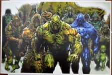 NEW 52 SWAMP THING 40 Cover Print / Poster DC Season's End