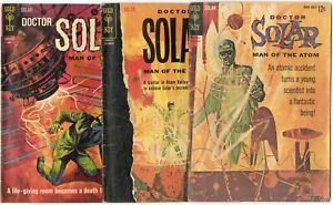 Doctor Solar #1 - 25 (11 issues)  avg. VG 4.0  Gold Key  1962  No Reserve