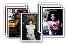 PJ HARVEY  - 10 promotional posters - collectable postcard set # 1
