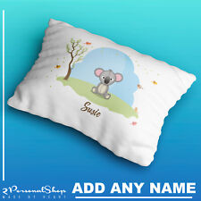 Personalised Cute Animals Pillow Case Cushion Cover Custom Print Children Kids