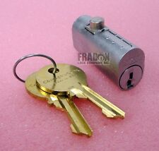 Chicago File Cabinet Lock Replacement Cylinder CEXP-19DC Fire File Oval Plunger