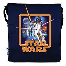 STAR WARS A NEW HOPE BLUE CANVAS FOLDER BAG SCHOOL-SPORTS BRAND NEW GREAT GIFT
