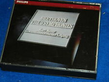 3 CD philips 1975 KURT MASUR ludwig van beethoven the 9 nine symphonies LEONORE