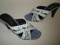 "$180 DONALD J.PLINER  3.5"" HEELS SANDALS SIZE US 7 SEXY MADE IN ITALY MUST HAVE"