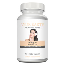 AYUR EARTH Mitaglo Healthy Skin Care Ayurvedic Supplements ( 60 Soft Gel Caps)