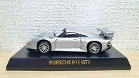 1/64 Kyosho PORSCHE 911 GT1 SILVER diecast car model