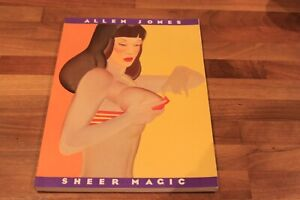 ALLEN JONES - SHEER MAGIC - ART Book - 1979 - Softback -  18+ Mature