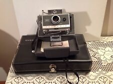 Polaroid Automatic 340 Land Camera Vintage Retro+Flash, Portrait Kit Case