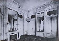 G.S. Salon, Annexe de la Prefecture, Bordeaux, France, Magic Lantern Glass Slide