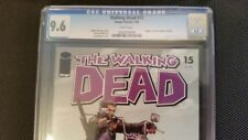 Walking Dead 15 CGC 9.6 White Pages Jan 2005 Death ofChris, Rachel and Susie