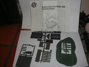 OO SCALE RATIO KIT NUMBER 505 COALING STAGE KIT   UNBUILT