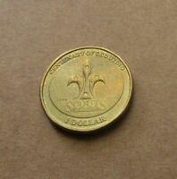AUSTRALIAN 2008 CENTENARY OF SCOUTING...  $1.00 DOLLAR COIN....