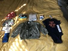 Lot Of 6-12 Months Brand New Baby Boy Clothes With Tags
