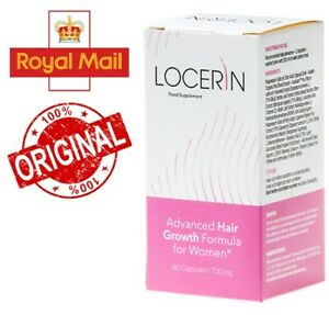 LOCERIN – Advanced Hair Growth Formula for Woman, 60 CAPSULES/720 mg