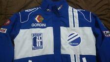 NEU RENAULT GORDINI CARAVELLE Fan-Jacke blau weiß jacket veste jas giacca jakka