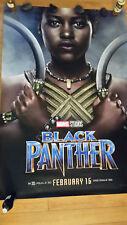 BLACK PANTHER NAKIA Lupita Nyong'o 4'x6' Bus Shelter Movie Poster MARVEL STUDIOS