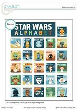 Star Wars Fabric Alphabet Flannel Panel for Quilting from Camelot Fabrics